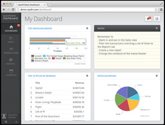 Vaadin : un framework Java pour développer rapidement des applications web performantes, esthétiques & ergonomiques.